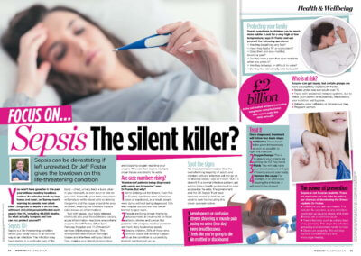 Sepsis - Woman Magazine