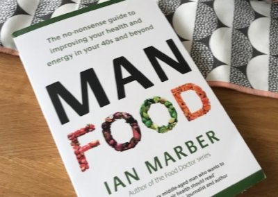 ManFood by Ian Marber - Insert review and contribution