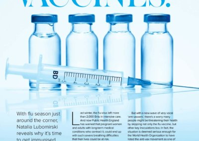 What's the deal with vaccines-P1 - Woman and Home Magazine Sept 2019
